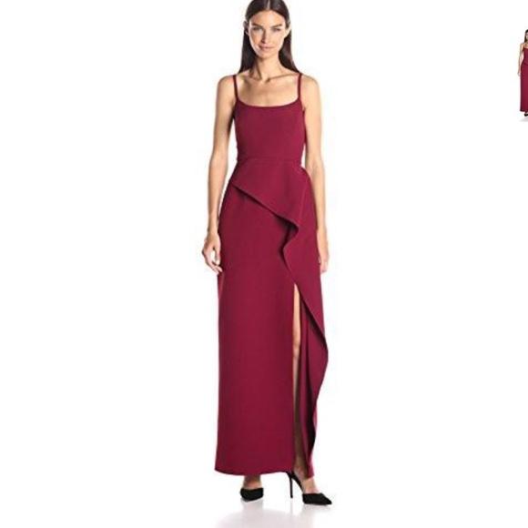 BCBGMaxAzria Dresses   Bcbg Maxazria Gown Prom Dress With Slit ...